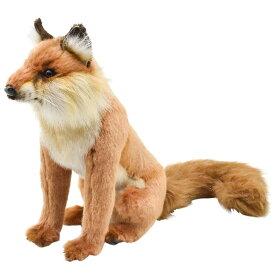 HANSA ハンサ アカギツネ 6098 狐 ぬいぐるみ 動物 アニマル リアル おすすめ クリスマス 誕生日 プレゼント ギフト ぬい撮り かわいい 動物園