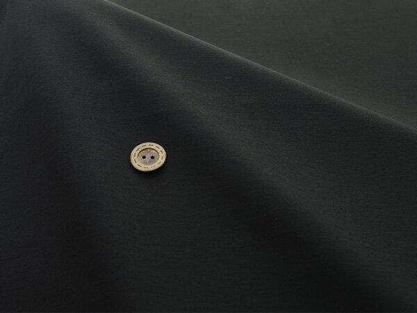 【ワンコインセール スムースニット★ブラック】アパレルメーカー放出品 テンション中のシルケットスムース【1m単位】(l-600)