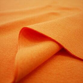 30/- スパンフライス フレッシュオレンジ伸びて縮んでしっかりフィット