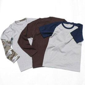 スリーウェイ ラグランTシャツ型紙【メンズサイズ】ニット生地向け カット済み原寸パターン