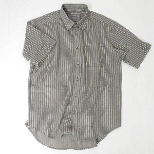 半袖前開きシャツ型紙【メンズサイズ】ニット生地向け カット済み原寸パターン 布帛もOK
