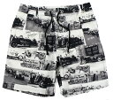 OLD CROW [-RACING FOR LIFE - SHORTS- IVORY size.S,M,L,XL]