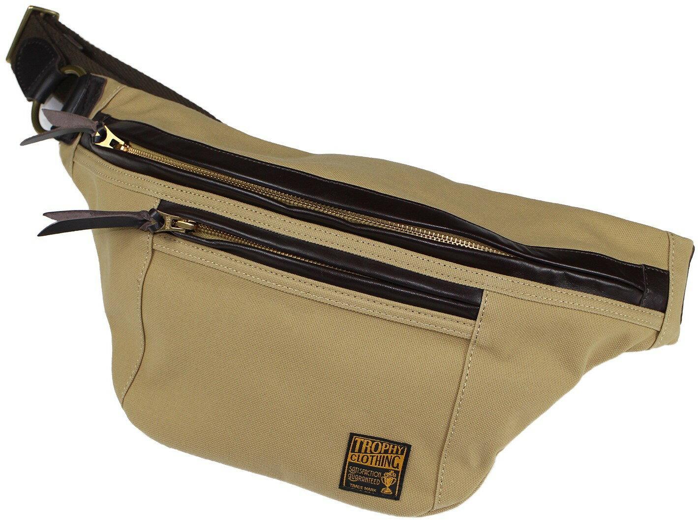TROPHY CLOTHING [-Day Trip Bag- Beige]