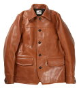 "GANGSTERVILLE [-30'S CAR - COAT ""HORSE HIDE""- BROWN size.S,M,L,XL]"