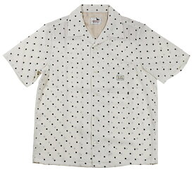 GANGSTERVILLE [-DIAMONDS - S/S SHIRTS- IVORY size.S,M,L,XL]