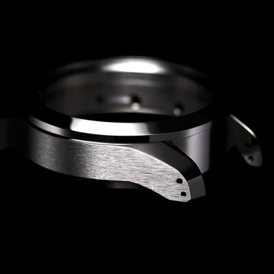 "Knot(ノット)""ATC-40オートマチッククロノグラフ""シルバー&ホワイト時計本体のみ(ベルト別売り)【オンネームサービス不可商品】クロノグラフ/ウォッチ/メンズ/男性/サファイアガラス/日本製/自動巻腕時計/機械式時計/MADEINJAPAN/"