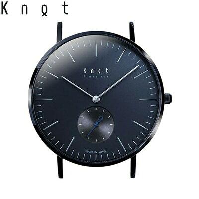 """Knot(ノット)""""クラシック/スモールセコンド""""ブラック&グレー時計本体のみ(ベルト別売り)ウォッチ/メンズ/男性/レディース/女性/サファイアガラス/日本製/腕時計/ウォッチ/MADEINJAPAN/おしゃれ/腕時計/送料無料"""