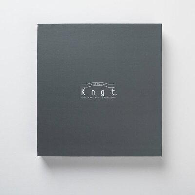 "Knot(ノット)""カスタマイズギフトボックス""グレー(時計2個収納可能)"