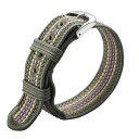 Knot(ノット)京都 昇苑くみひも 替えベルト(幅18mm)松葉(MATSUBA) & シルバーバックルベルトのみ購入はメール…