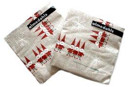 発送は郵便/1セット! アルメダールス 北欧 ペーパーナプキン トムテ 紙ナプキン 20枚入り/セット 可愛い おしゃれ ペーパークロス ナフキン キッチン雑貨 便利 北欧雑貨 almedahls スウェーデン