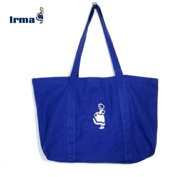 ★ イヤマ バッグ ブルー トートバッグ エコバッグ マザーズバッグ ショッピングバッグ ★IRMA 北欧雑貨