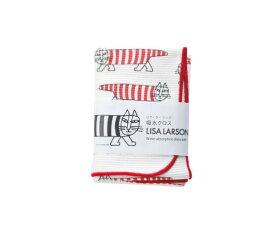 発送は郵便で! Lisa Larson リサラーソン 吸水クロス マイキー 猫 ネコ キッチンワイプ 吸水タオル 布巾 フキン 布きん ふきん キッチンクロス キッチン雑貨 日本製 北欧雑貨