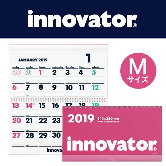 [送料無料]【innovator イノベーター】カレンダー壁掛<M>2019(シンプル おしゃれ 壁掛けカレンダー 2019年 壁掛け カレンダー 2019年カレンダー 家族 2019年1月始まり 書き込み 北欧 書き込みカレンダー かわいい 大人 グッズ ウォールカレンダー 壁 壁掛 ウォール)