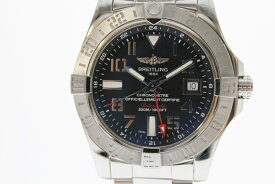 【中古】BREITLING ブライトリング アベンジャー2 GMT A32390 白文字盤 自動巻き USED-AB メンズ 腕時計  m19-1200303925800018