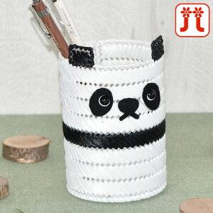 ハマナカ 子供手芸 パンダのペン立て