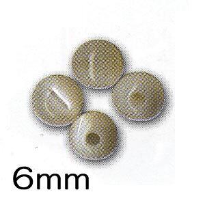 メルヘンアート パワーストーン 丸玉6mmタイプ マザーオブパール