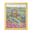 オリムパス クロスステッチししゅうキット オノエ・メグミ 物語からの花咲く風景 バラの花咲くピーターの庭
