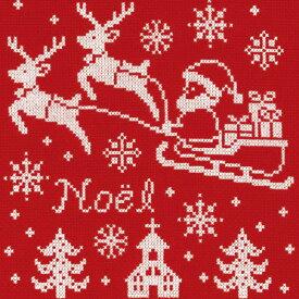 オリムパス クリスマスクロスステッチキット サンタクロース(レッド)