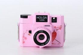 【送料無料】 ホルガ 【 HOLGA 】 フィルムカメラ H-120N 日本限定デザイン ピンク トイカメラ