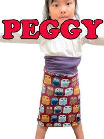 ふくろう柄 起毛 スカート (サイズ3のみ)【PEGGY 冬物】 【peggy 子供服】【レトロ】【値下げ】【即納】【ポッキリ】【RCP】楽天カード分割