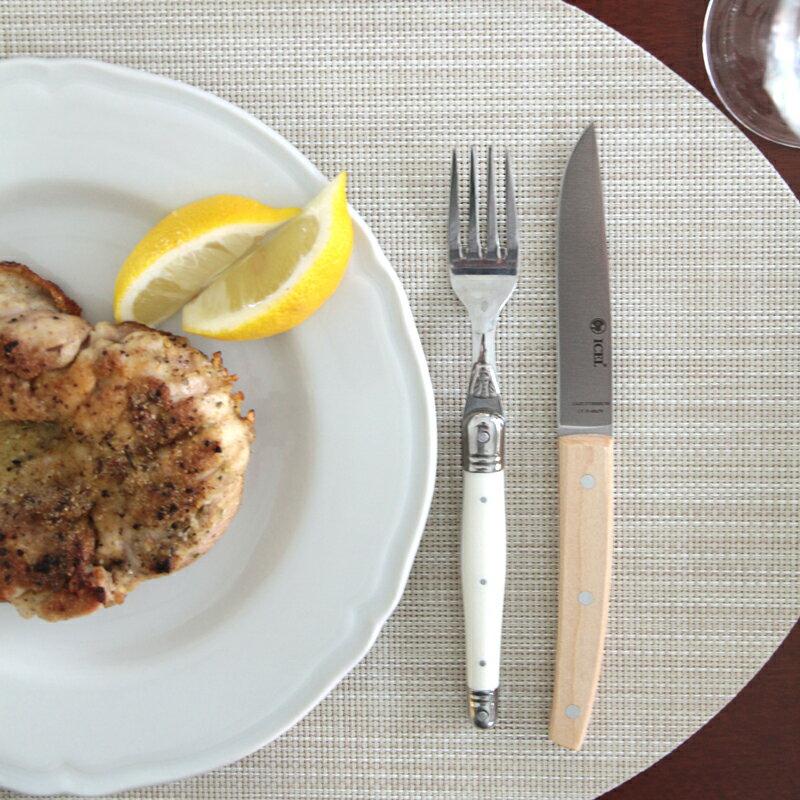 ICEL(イセル) 食卓用ナイフ ST05 メープル