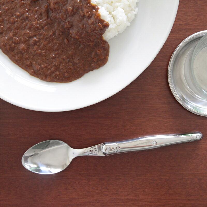 ジャンデュボ ライヨール ステンレス テーブルスプーン Jean Dubost Laguiole Table spoon
