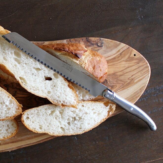 ジャンデュボ ライヨール ステンレス ブレッドナイフ Jean Dubost Laguiole Bread