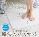 とにかく吸い取る!魔法のバスマット日本製 土から生まれたエコ モイス バスマット Moiss バスマット プレゼント 洗面所 脱衣所
