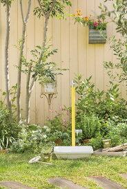 ジラーレ W (補助蛇口付)水栓柱・10色