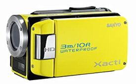 【中古】SANYO ハイビジョン 防水デジタルムービーカメラ Xacti (ザクティ) DMX-WH1 イエロー DMX-WH1(Y)
