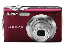 【中古】Nikon デジタルカメラ COOLPIX (クールピクス) S4000 ルビーレッド S4000RD