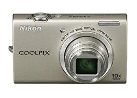 【中古】Nikon デジタルカメラ COOLPIX (クールピクス) S6200 プラチナシルバー S6200SL