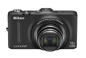 【中古】Nikon デジタルカメラ COOLPIX (クールピクス) S9300 ノーブルブラック S9300BK