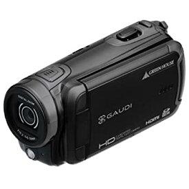 【中古】GREEN HOUSE 乾電池駆動HDデジタルビデオカメラ ブラック