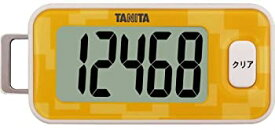 【中古】タニタ(TANITA) 3Dセンサー搭載歩数計 橙 FB-731-OR