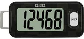 【中古】タニタ(TANITA) 3Dセンサー搭載歩数計 黒 FB-731-BK