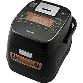 【中古】アイリスオーヤマ 炊飯器 IH 3合 銘柄量り炊き カロリー計算機能付き 米屋の旨み ブラック RC-IA31-B