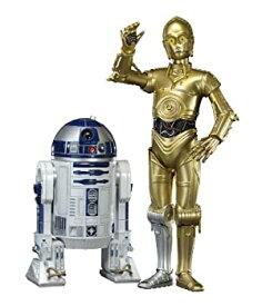 【中古】コトブキヤ スター・ウォーズ ARTFX+ R2-D2 & C-3PO 1/10スケール PVC塗装済み簡易組立キット