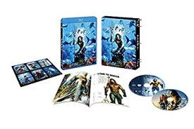 【中古】アクアマン ブルーレイ&DVDセット (初回仕様/2枚組/ブックレット&キャラクターステッカー付) [Blu-ray]