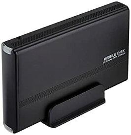 【中古】玄人志向 3.5型HDDケース IDE接続 USB2.0対応 マットブラック GW3.5AA-PU2/MB