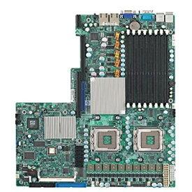 【中古】Supermicro デュアルLGA771 Xeonプロセッサ/インテル5000X / PCI-E/V&2GbE / EATXサーバー用マザーボード