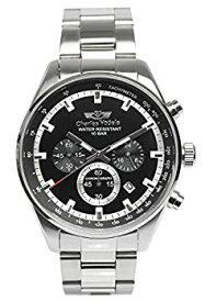 【中古】[シャルルホーゲル]Charles Vogele 腕時計 ウォッチ クロノグラフ ビジネス カジュアル 10気圧防水 メンズ [並行輸入品]