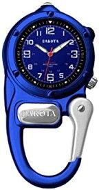【中古】Dakota ダコタ LEDライト付き カラビナウォッチ ブルー×ネイビー 並行輸入品