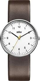 【中古】ブラウン Braun Men's BN0021WHBRG Classic Analog Display Japanese Quartz Brown Watch 男性 メンズ 腕時計 【並行輸入品】