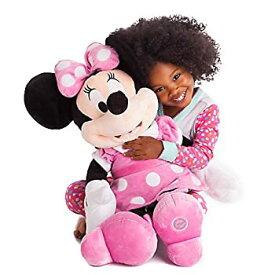 【中古】ミニーマウス ぬいぐるみ 大きい ラージサイズ 68.5cm ピンク ディズニー キャラクター おもちゃ 人形 [並行輸入品]