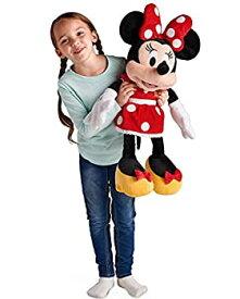 【中古】Disney ディズニー Minnie Mouse Plush ミニーマウス 大きい ぬいぐるみ レッド 赤 27インチ 2018 並行輸入品