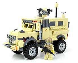 【中古】Army MRAP APC - Battle Brick Custom Set