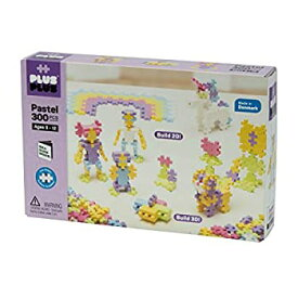 【中古】Plus-Plus - 300 Pastel pcs. in a Box - Building Set by Plus Plus (05035)