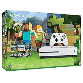 【中古】Xbox One S 500GB Ultra HD ブルーレイ対応プレイヤー Minecraft 同梱版 (ZQ9-00068)