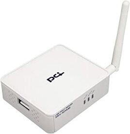 【中古】PLANEX 双方向通信対応 有線・無線 USB2.0プリントサーバ Mini-101MG